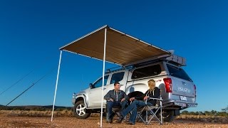 ARB Touring Awning... Easy to mount and operate, this retractable a...