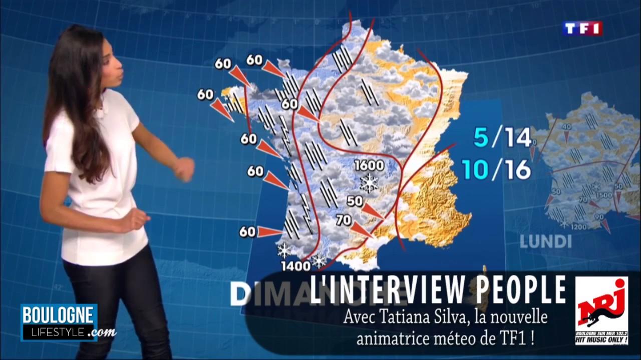 Tatiana silva l 39 animatrice de la m t o sur tf1 en interview youtube - Nouvelle presentatrice meteo tf1 ...