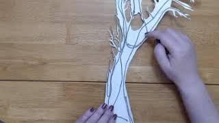 Paper Tole Tree Construction Part 1