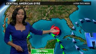 Tropical Storm Nate Outlook for Saturday, October 7 2017