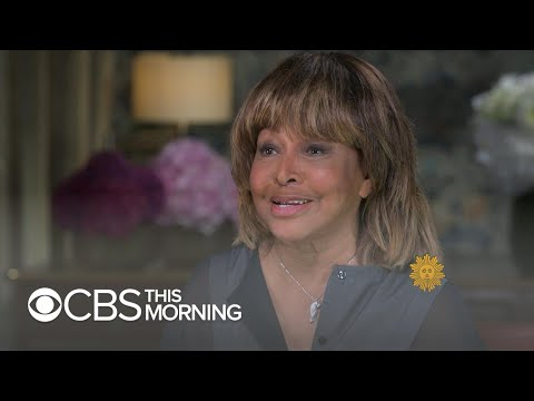 """Tina Turner says she thought her voice was """"kind of ugly"""" at first"""
