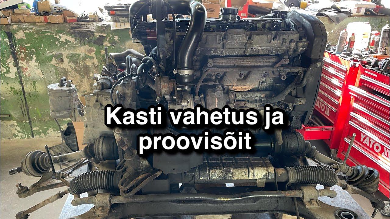 Volvo käigukasti vahetus ja proovisõit - MaXpeedingRods
