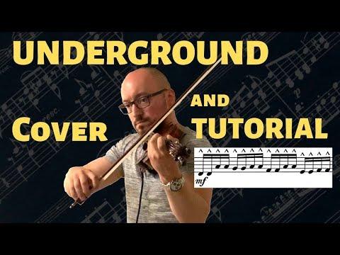 UNDERGROUND (Lindsey Stirling) Cover & Tutorial - Benchfiddler thumbnail