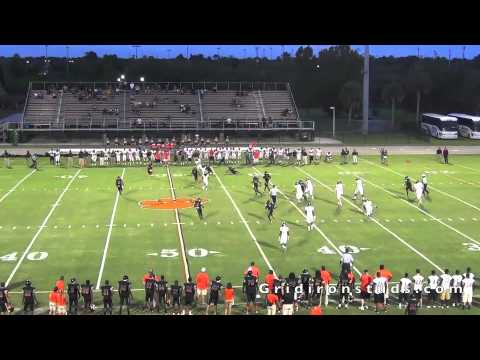 2013 WR Jordan Cunningham - senior year highlights - University School - Ft. Lauderdale, FL