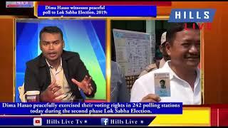 Dima Hasao & Karbi Anglong, witnesses peaceful poll to Lok Sabha Election, 2019: