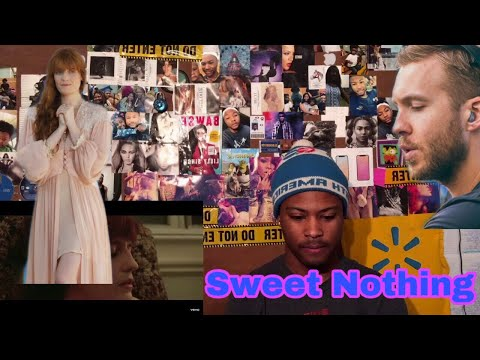 Calvin Harris - Sweet Nothing (Official Video) ft. Florence Welch | Reaction