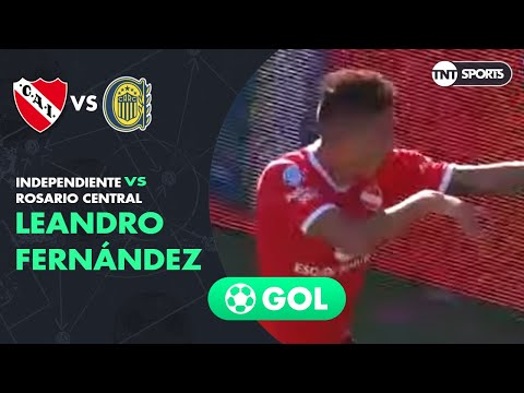 Leandro Fernández (2-0) Independiente vs Rosario Central | Fecha 18 - Superliga Argentina 2019/2020