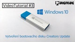 VideoTutorial #3 - Vytvoření boot média pro Windows 10