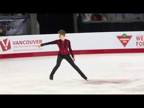 12 Roman SADOVSKY - Canadian Nationals 2018 - Mens SP