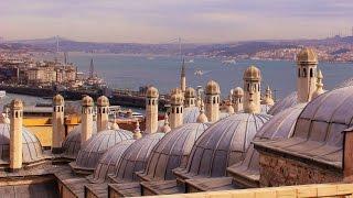 Стамбул -  город контрастов. Где сливается Европа и Азия.