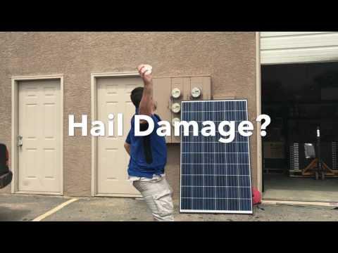 Solar: Will hail