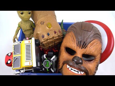 Caja Gigante de Juguetes Favoritos de Hulk y STC