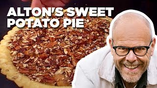 Alton Brown Makes Sweet Potato Pie | Food Network