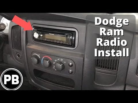 2002 - 2005 Dodge Ram Bluetooth Stereo Install Pioneer DEH-X8800BHS