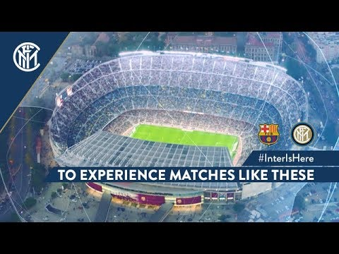 BARCELONA vs INTER | #INTERISHERE TO EXPERIENCE MATCHES LIKE THESE! | UEFA Champions League 2018/19