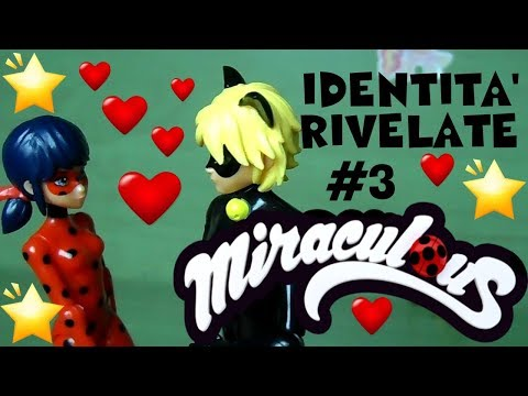 LADYBUG e Le Identità RIVELATE #3 Storie Giocattoli By Lara e Babou