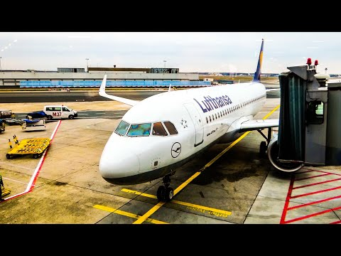 TRIP REPORT | Lufthansa A320 NEO | Frankfurt To Manchester | 21 November 2018