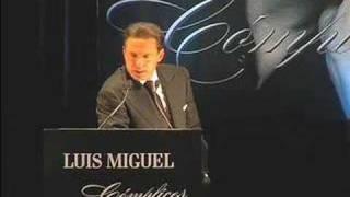 Luis Miguel revela sus amores eternos