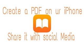 So erstellen Sie eine PDF n teilen Sie Sie auf social media