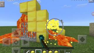 Minecraft Pe Lucky Block Mod (Link :Play Store..Mods for Minecraft Pe)