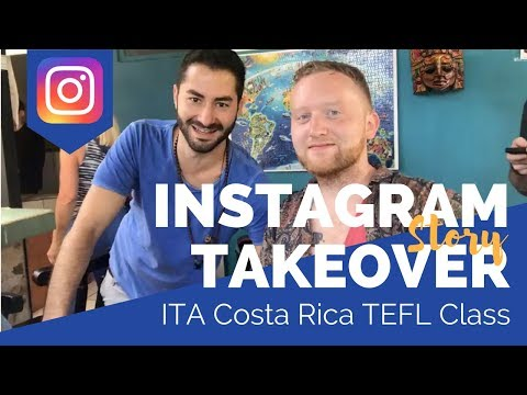 Costa Rica TEFL Class #3 - Teaching English Abroad Social Takeover