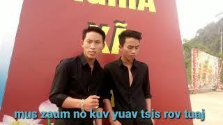 Tsis yos dhuav es khiav cover by ib txhis thai yang & keo yang