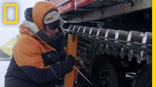 The Worst Place to Change a Tire | Continent 7  Antarctica