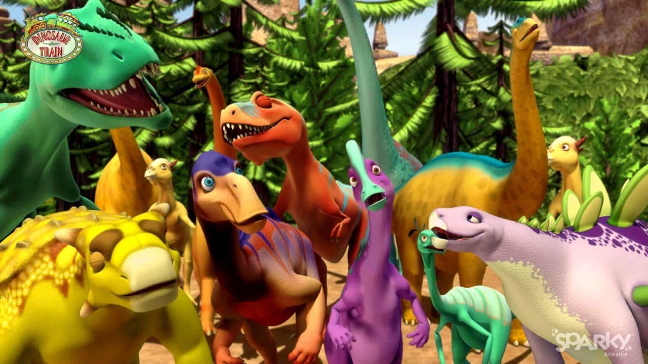 Dinosaur Train Seasons 1 & 2 - Sparky Animation - YouTube