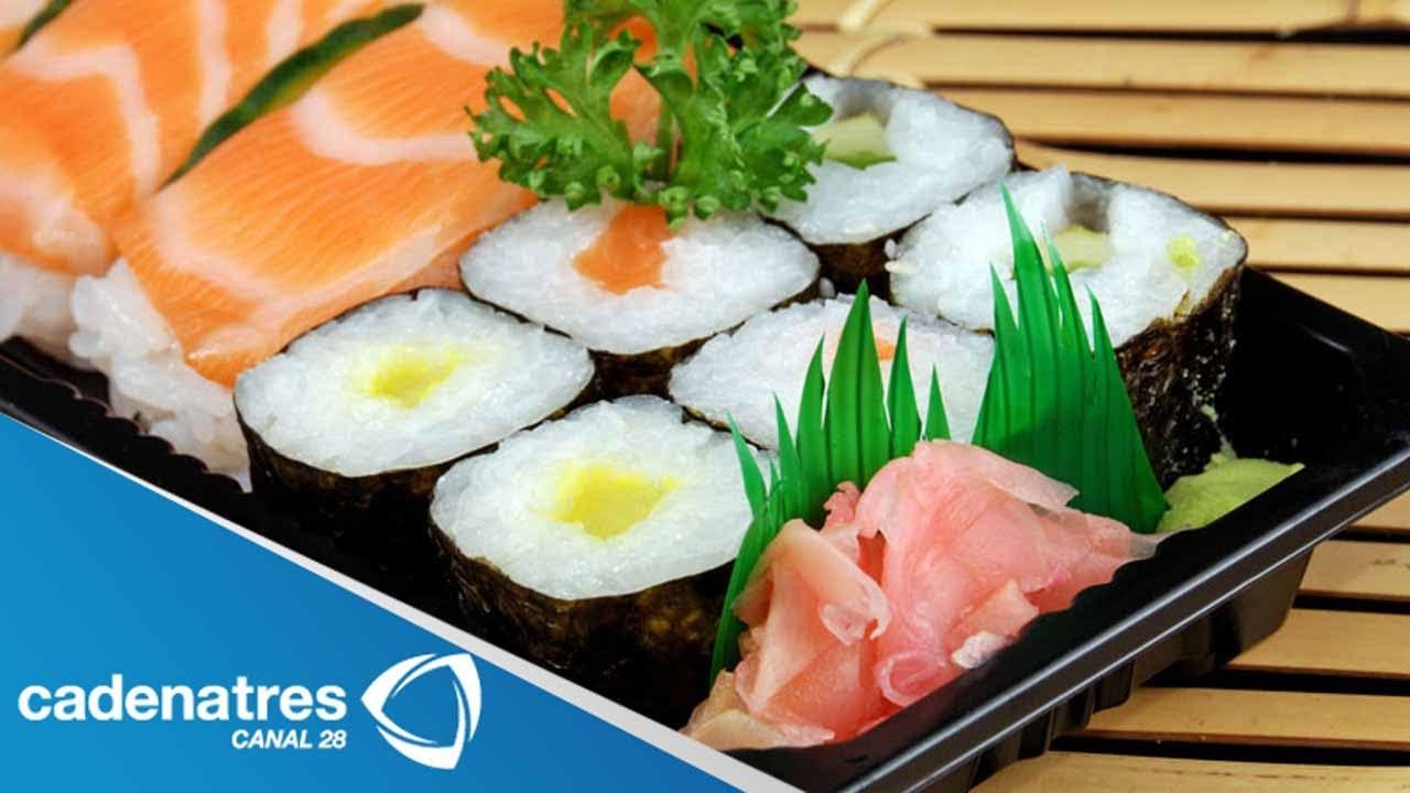 receta para preparar sushi tradicional receta comida oriental receta de sushi