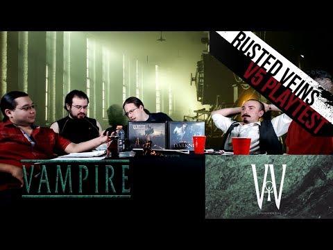 Vampire 5e Alpha Feedback Discussion