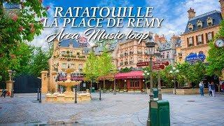 La Place de Rémy - Area Music Loop [HQ] - Disneyland® Paris