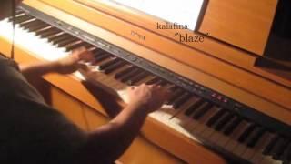 アルスラーン戦記(Arslan Senki) ED「blaze」ピアノで弾いてみた