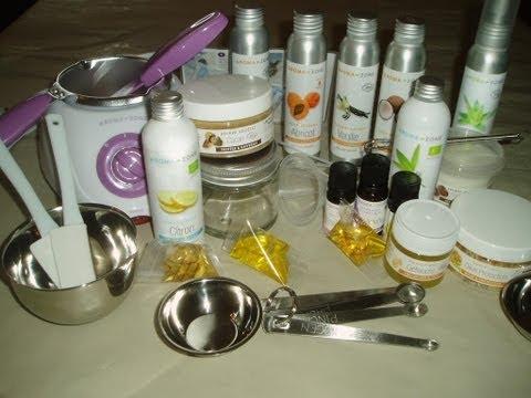HAUL Aroma-Zone , mes débuts en cosmétologie maison