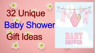 32 Unique Baby Shower Gift Ideas/gifts for new mothers, baby shower gift list,#kids#baby#shower#mom