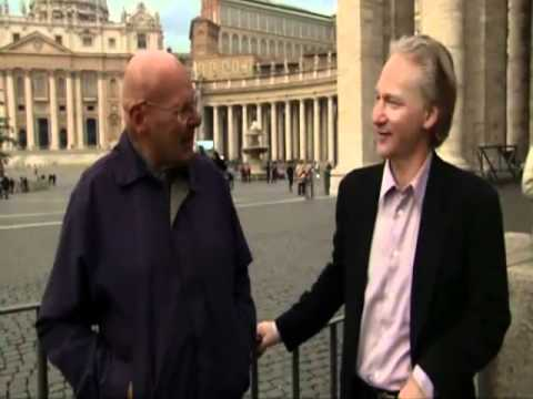 Senior Vatican Priest - Father Reginald Foster - interviewed by Bill Maher