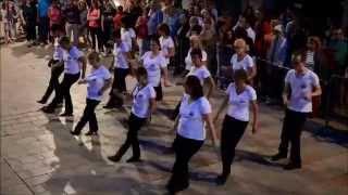 Sarlat Country Dance fête de la musique 2015.