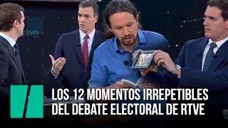 Los mejores momentos del debate electoral de RTVE, en tres minutos