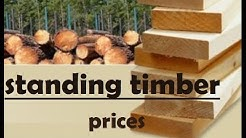 standing timber prices, timber prices per acre
