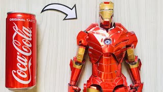 Iron Man Full Body Armor Using Soda Can