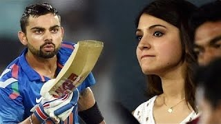 Virat Kohli's Flying Kiss to 'Anushka Sharma' From Cricket Ground | New Bollywood Movies News 2014
