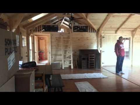16x40 Cabin Huntsville Portable Bldg   Doovi