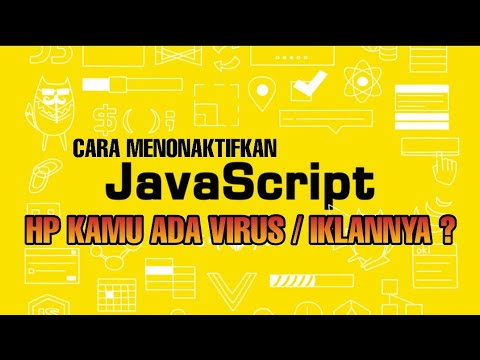 Cara Mengaktifkan Javascript Pada Browser