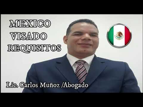 MEXICO VISADO Y REQUISITOS