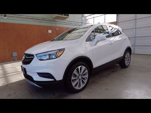 2018 BUICK ENCORE PREFERRED FWD - SUMMIT WHITE