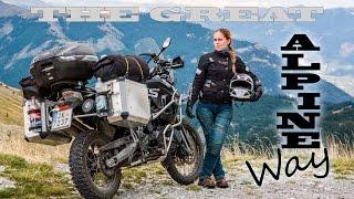 ö#Ò Great Alpine Way - Highest road in Europe