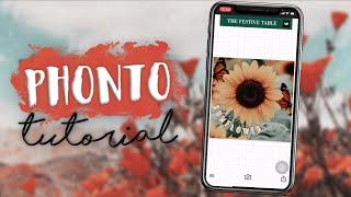How to Edit Photos in Phonto   Kayla's World screenshot 1