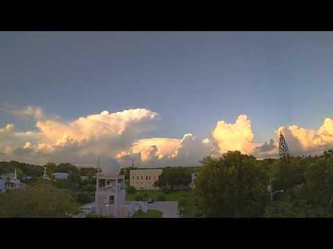 Tower Cumulus Building Toward Key West at Sunset (9/24/16)