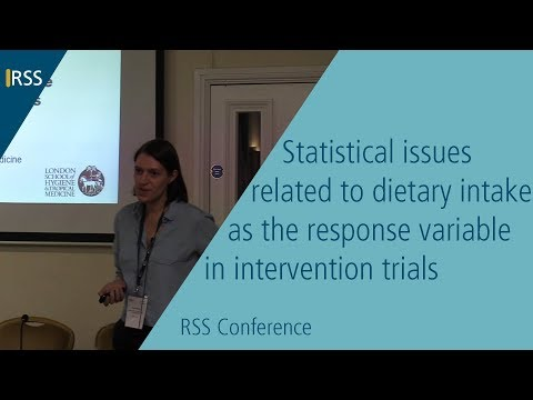 Statistical issues related to dietary intake as the response variable in intervention trials