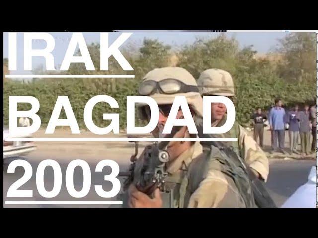 """Récit: Bagdad Mars 2003 L'Opération """"Liberté pour l'Irak"""""""