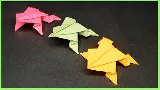 #Origami - Rana saltarina